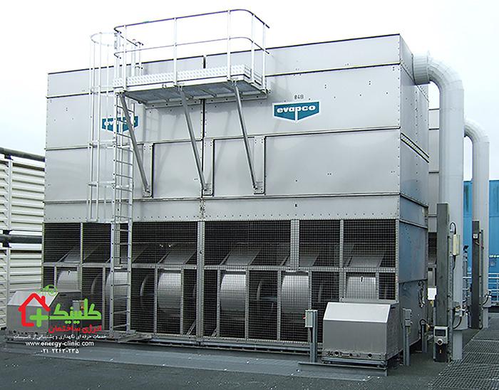 تعمیر و نگهداری برجهای خنککننده و دیگر تاسیسات ساختمان و موتورخانه