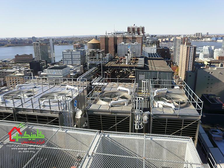بهینهسازی مصرف انرژی برجهای خنککننده