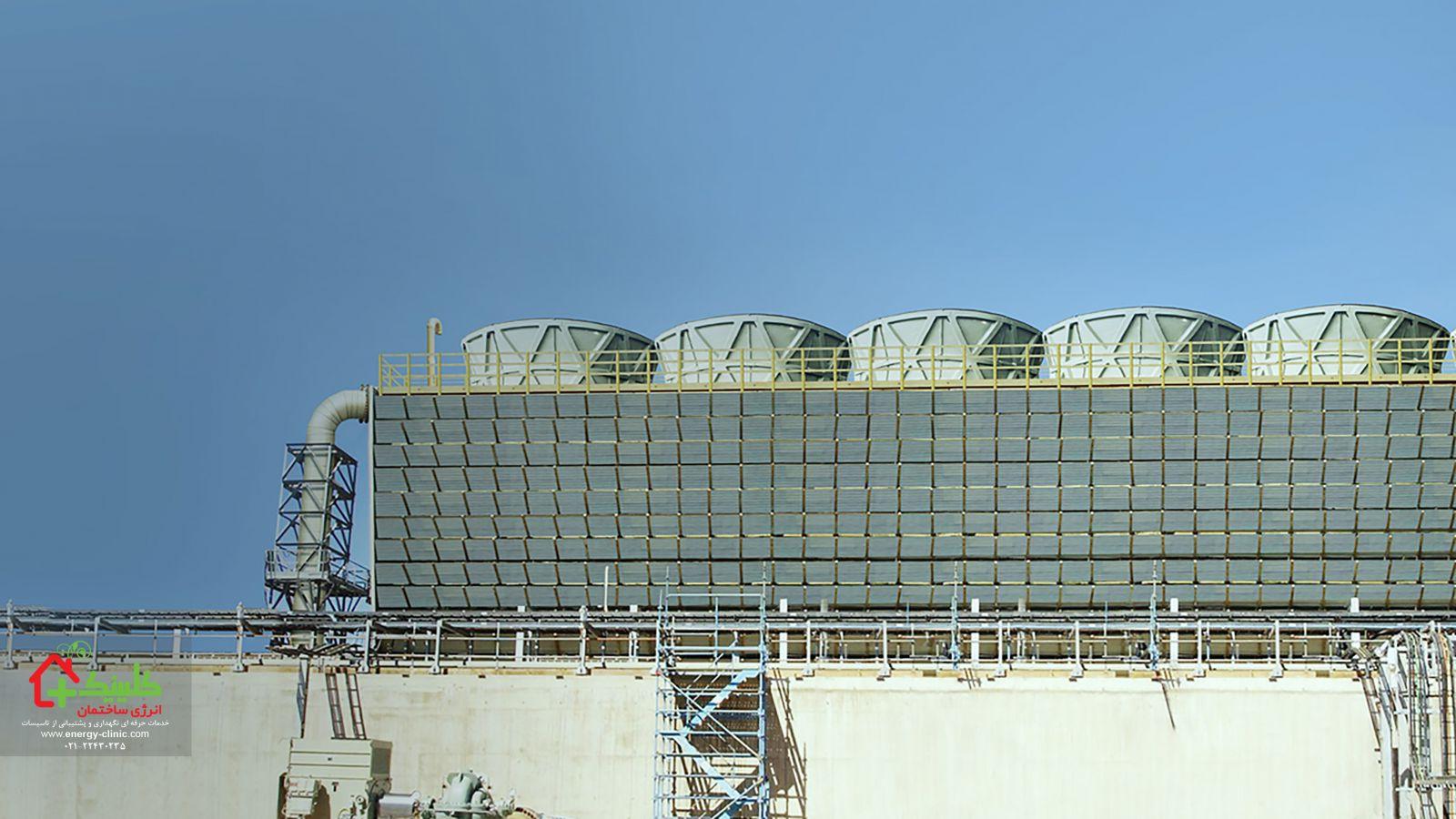 جایگزینی و ارتقا برج های خنک کننده