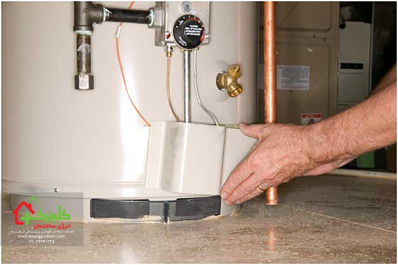 یافتن راهی برای کاهش مصرف آب گرم
