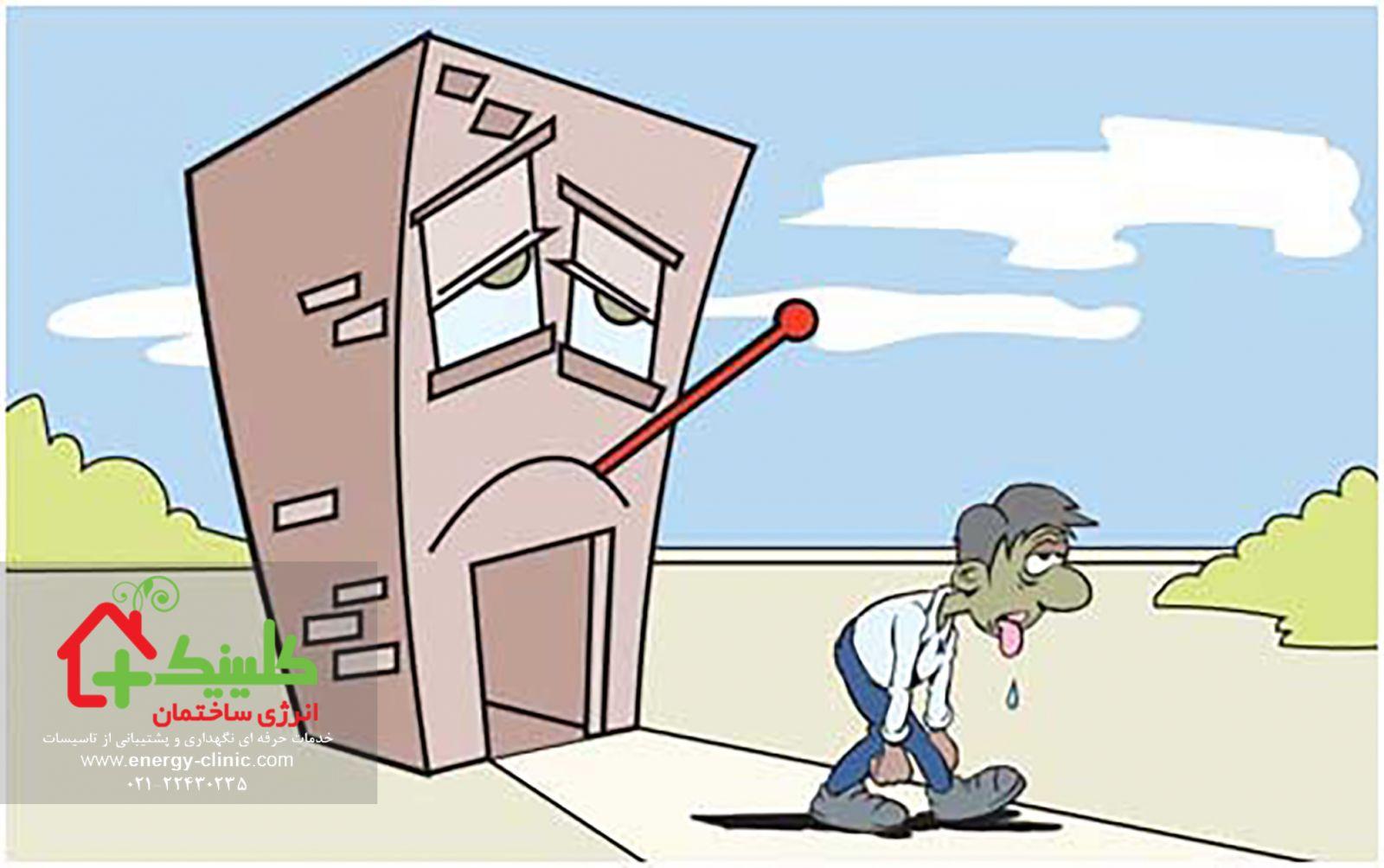 سندروم ساختمان بیمار Sick Building Syndrome