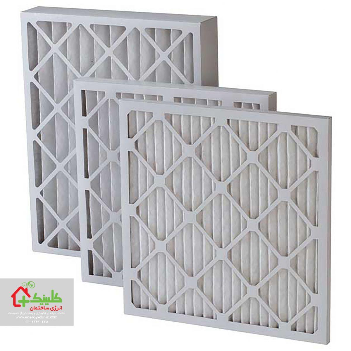 فیلتر هوای موتور کولریا هواساز و یا فن کویل خود را تعویض یا شستشو کنید