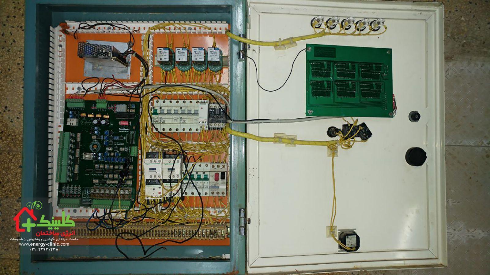 نمونه تابلو قدیمی با مصرف انرژی بالا