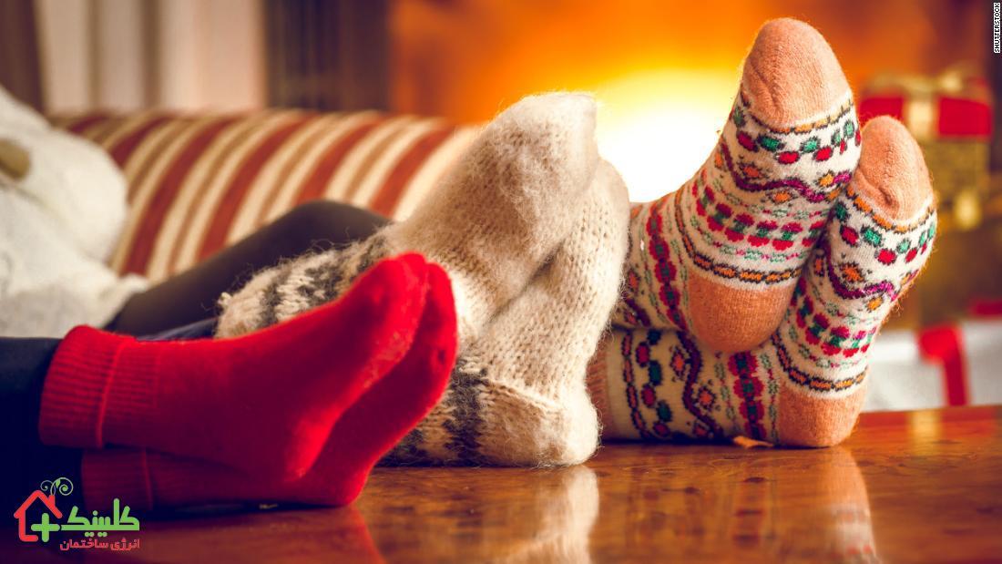 حفظ گرما در زمستان