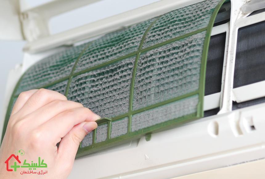 تعویض فیلتر کولر گازی ، راهی ساده برای نگهداری سیستم