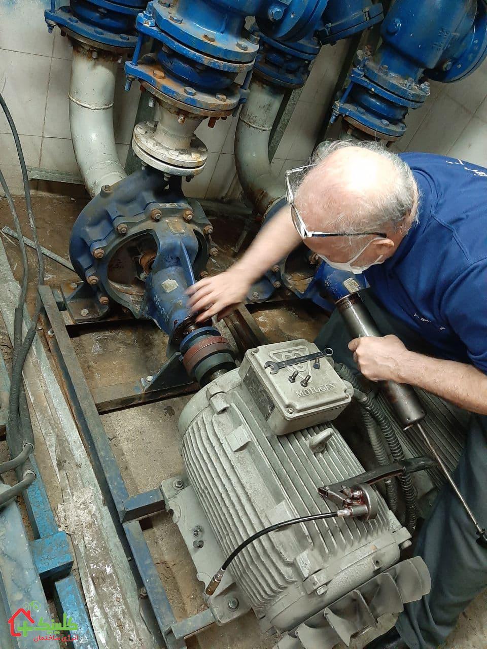 بازسازی موتورخانه