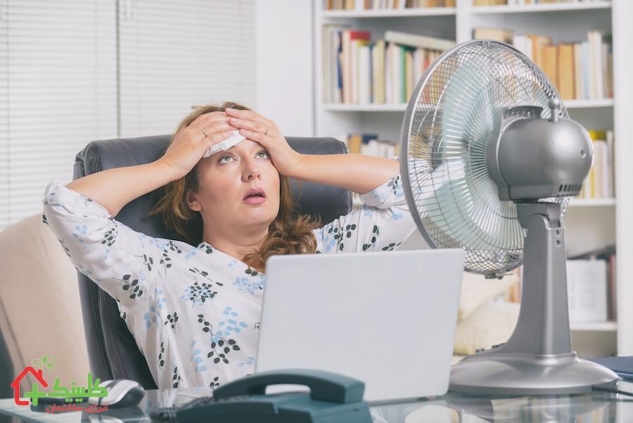 سرما ندادن کولر گازی و علت باد گرم کولر گازی