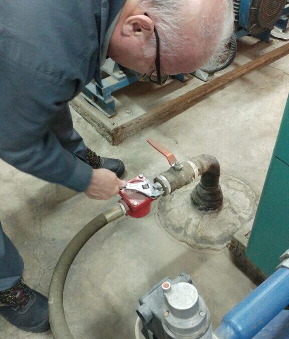 مراحل روشن کردن شوفاژ موتورخانه